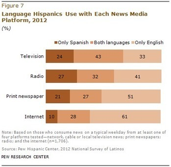 What Percentage of US Hispanics Prefer to Read/Listen to/Watch Spanish Language Content?   Translating for the Hspanic Market   Scoop.it