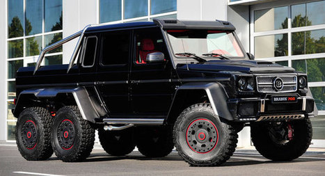Brabus Makes the Mercedes G 63 AMG 6x6 Even Crazier by Boosting it to 690HP - Carscoops | Automobiles, Supercars - constructeurs automobiles | Scoop.it