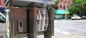 Des cabines téléphoniques transformées en bibliothèques : actualités - Livres Hebdo | BiblioLivre | Scoop.it