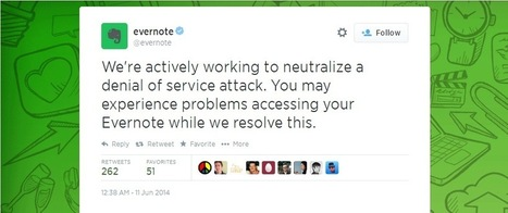 Feedly and Evernote Go Down As Attackers Demand Ransom | Réseaux sociaux | Scoop.it