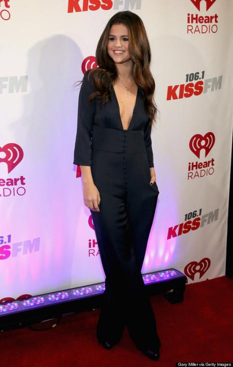 06/12 Selena Gomez usa traje con escotazo para evento navideño   asunciononline.com   Scoop.it