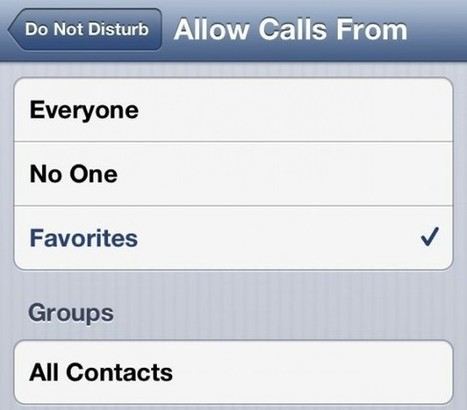 How to Use Do Not Disturb in iOS 6 | Technical & Social News | Scoop.it