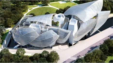 La Fondation Louis Vuitton signée Franck Gehry ouvre ses portes | Dans l'actu | Doc' ESTP | Scoop.it