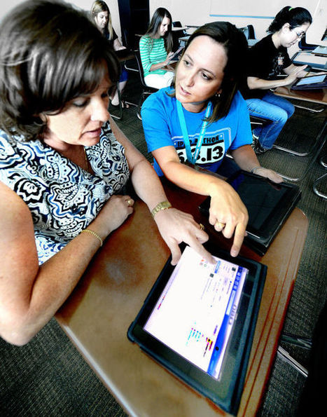Teachers get schooled on using technology in the classroom | technology education in the classroom | Scoop.it