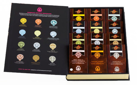 Gift of the Day: The 'Hunger Games' chocolate library | PopStyle ... | Love Of Chocolate | Scoop.it