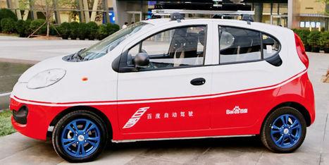 Le géant chinois Baidu dévoile enfin son modèle de voiture autonome | Post-Sapiens, les êtres technologiques | Scoop.it