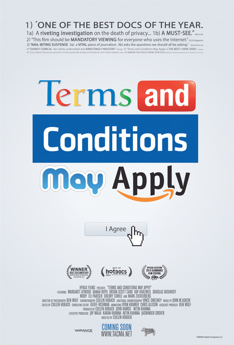 Terms and Conditions: A movie about privacy policies you'll actually want to watch | Higher Education & Information Security | Scoop.it