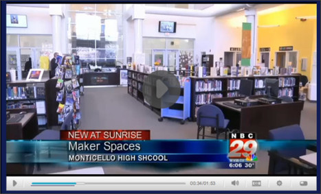 School Library Monthly Blog » Blog Archive » Makerspace Visit | Technology in Library Media Center | Scoop.it
