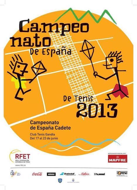 Twitter / RFET_tenis: Este es el póster del Campeonato ... | clubs de tenis y padel | Scoop.it