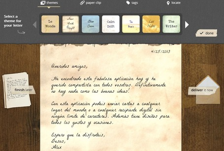 Lettrs, una aplicación para volver al pasado con la tecnología actual | Little things about tech | Scoop.it