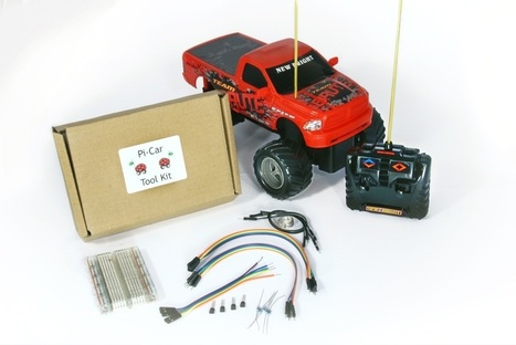 Pre-Constructed Pi-Car Tool Kit inc Car   Raspberry Pi   Scoop.it