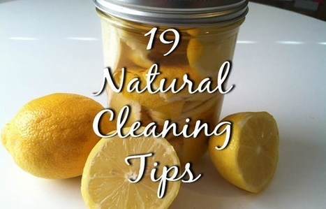 19 Cheap And Easy Natural Cleaning Tips | Cleaning and Maintenance Tips | Scoop.it