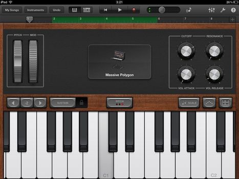 Question Of The Week: What Are The Best Apps For Making Music? | Ipad Apps and Ideas for Music Education | Scoop.it