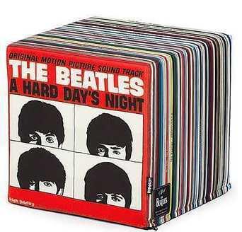 El puf de los Beatles.   Mil ideas de Decoración   Accesorios decoración   Scoop.it