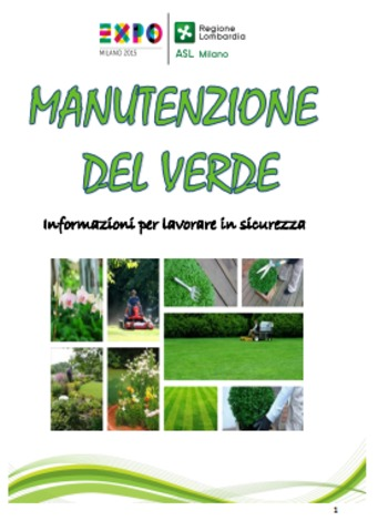 (IT) (PDF) -  Manutenzione del verde. Informazioni per lavorare in sicurezza   Elena Andreina, Flavia Borello e Veronica Cassinelli   Glossarissimo!   Scoop.it
