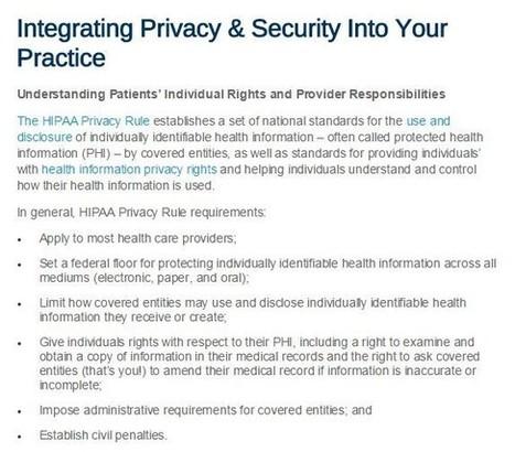 Document Management Services Help Improve HIPAA Compliance Measures | Spectrum Information | Scoop.it