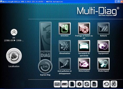 2013V Multi-Di@g Access J2534 Pass-Thru OBD2 Device | xcardiag obd2 | Scoop.it