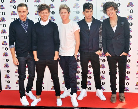 One Direction win three awards at BBC Teen Awards - VIDEO   1D, BTR, etc...   Scoop.it