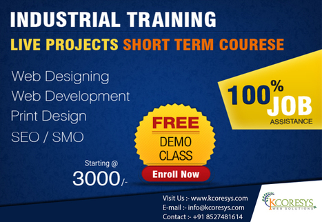 A reputed SMO training in Noida enhances your skills and helps you create a decent career | Kcoresys Edu | Training in Noida | Scoop.it