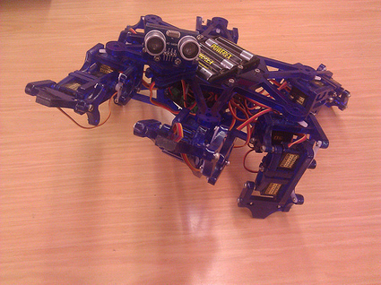 Hexy – Open-Source, Low-Cost Hexapod | | ArcBotics | hobby robotics | Scoop.it