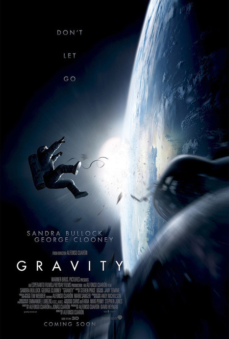 Gravity 3D - Movie Review • Blazing Minds | Vue Rhyl Film Reviewer Film Reviews | Scoop.it