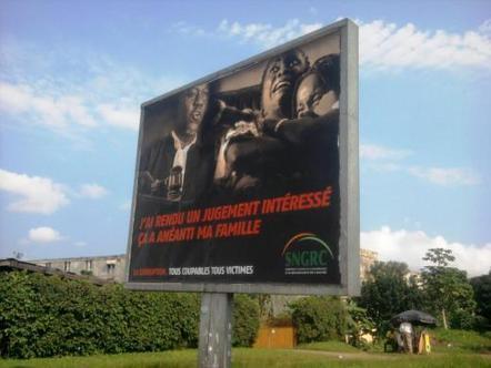 Une campagne choc pour lutter contre la corruption en Côte d'Ivoire | The Observers | La relance de l'économie ivoirienne après la crise post-électorale | Scoop.it