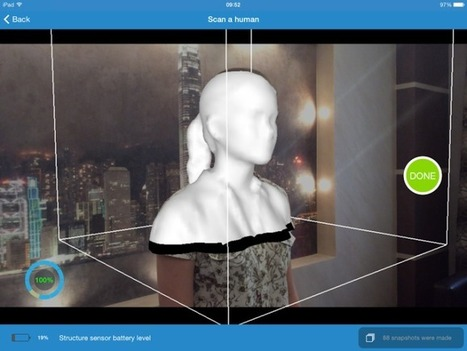 An iPad App To Make All Your Selfies Go 3D  | TechCrunch | Curtin iPad User Group | Scoop.it