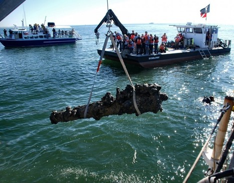 North Carolina: Blackbeard's Cannons Recovered from Wreck of Queen Anne's Revenge | Archaeology News | Scoop.it