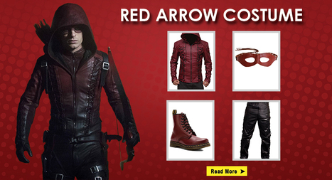The Best DIY Red Arrow Costume Guide | celebrities Leather Jackets | Scoop.it