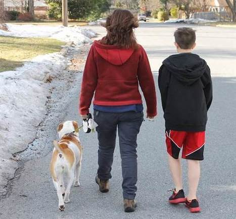 Don't call me a helicopter mom just because I walk my child to school | Kickin' Kickers | Scoop.it
