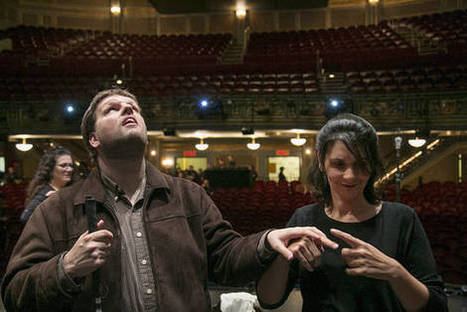 Awakening the Senses on Broadway | Deaf Blind | Scoop.it