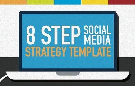 8 Step Social Media Marketing Strategy Template #infographic | Digital Marketing | Scoop.it