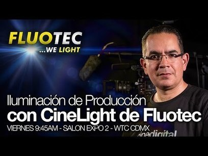 Conferencia Iluminación de Producción con CineLight de Fluotec | FOTOGRAFIA Y VIDEO HDSLR PHOTOGRAPHY & VIDEO | Scoop.it