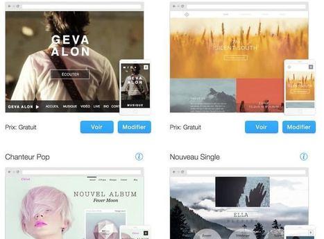Wix Music. Un site pour chaque musicien - Les Outils du Web | Les outils du Web 2.0 | Scoop.it