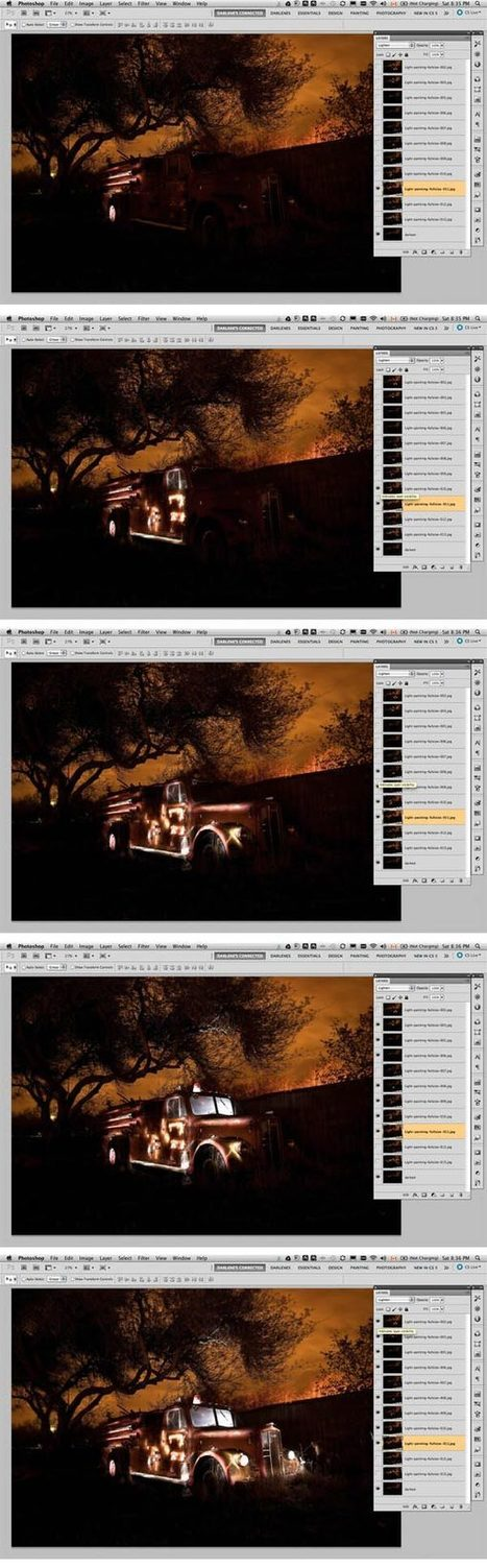 Light Painting Part Two – Photoshop   Digital Imaging Class   Scoop.it