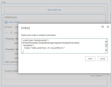 SP2013 Client Side Rendering: List Views | SharePoint Wijzer | Scoop.it