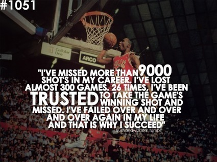 5 Things MJ Teaches Us About Failure | Building Resilience | Scoop.it