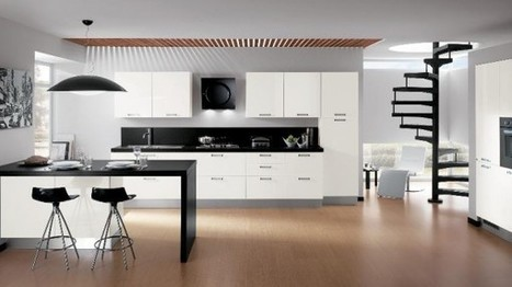 Contemporary Kitchens for Large and Small ... - Home Designing | Kitchen Design | Scoop.it