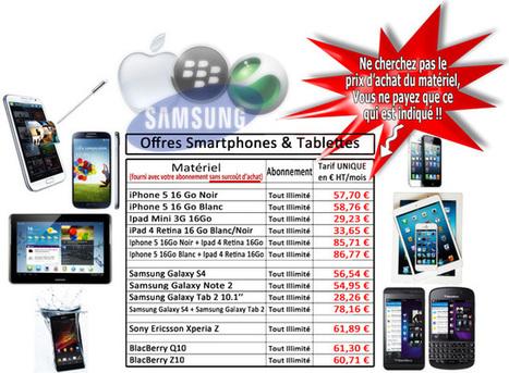 Offre Clients Smartphones Tablettes - ProgetCom France | ProgetCom, Courtier en Téléphonie multiopérateur et Prestataire en Téléprospection | Scoop.it