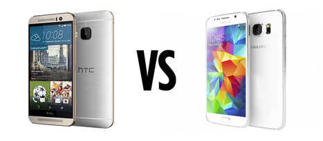 Samsung Galaxy S6 Vs HTC One M9: Which is Your Next Device?   All about smartphone   Scoop.it