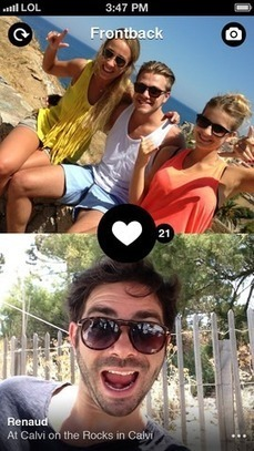 This iPhone App Lets You Take Photos Using Both Cameras At The Same Time | MarketingHits | Scoop.it