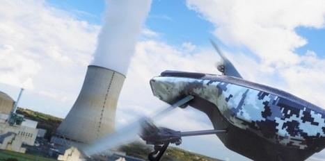 Nucléaire : les drones relancent les inquiétudes sur les piscines des sites   Think outside the Box   Scoop.it