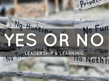 Do the Best Leadership Lessons Come From Yes or No? | Leadership Advice & Tips | Scoop.it