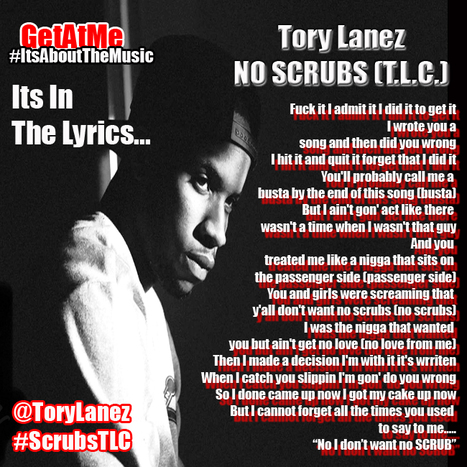 GetAtMe ItsInTheLyrics- Tory Lanez SCRUBS(T.L.C.)... #DjAlert | GetAtMe | Scoop.it