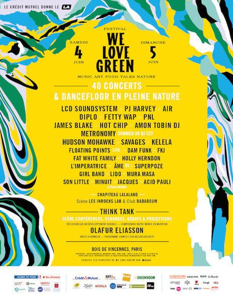 We Love Green, le festival qui mêle électro et écologie | Les coups de coeur de D'Dline 2020 | Scoop.it