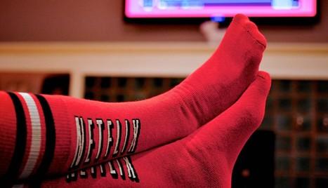 Ces chaussettes Netflix stoppent votre série TV si vous dormez... | Objets connectés, quantified self, TV connectée et domotique | Scoop.it