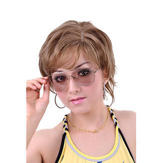 Straight Short Golden Blonde Hair Wig – WigSuperDeal.com   African American Wigs   Scoop.it