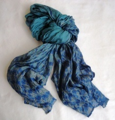 Towards fair trade Cambodia, pure soft silk scarf, ethically handmade by disadvantaged home based weavers. www.craftworkscambodia.com | Natural Dyes Cotton Scarfs | Scoop.it