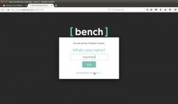 Bench: un espace collaboratif à mi chemin entre padlet, portfolio et discussion instantanée – Le coutelas de Ticeman | le foyer de Ticeman | Scoop.it