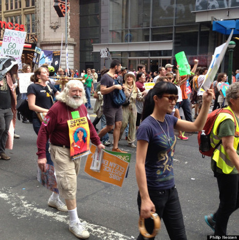 Hundreds Of Thousands Turn Out For People's Climate March In New York City | Elevator Pitch: Education for Sustainability | Scoop.it